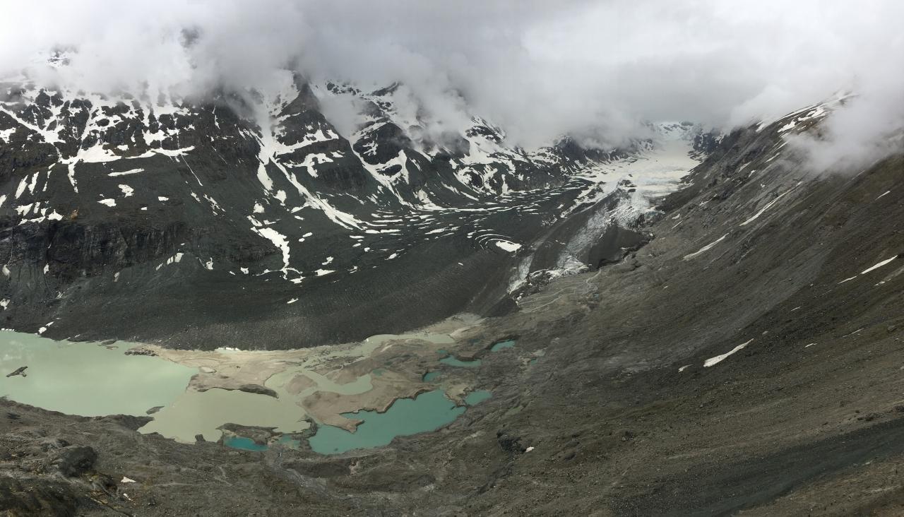 Blick auf den Pasterzengletscher von der Franz-Josefs-Höhe